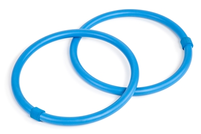 Set Of 2 Weighted Arm Hula Hoop Exercise Rings By