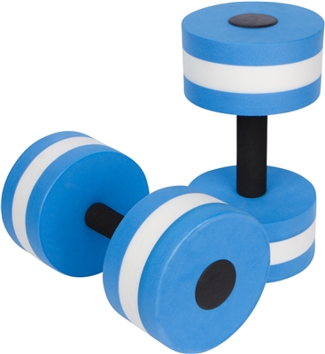 Aquatic Exercise Dumbells Set Of 2 For Water Aerobics