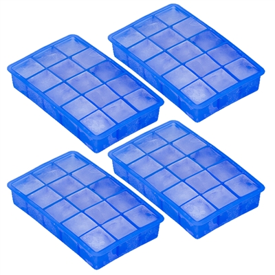 15 Cube Ice Cube Tray Makes Perfect Cubes In Freezer 4