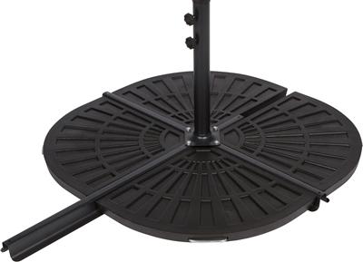 Resin Umbrella Base Weights For Offset Umbrella Set Of 2