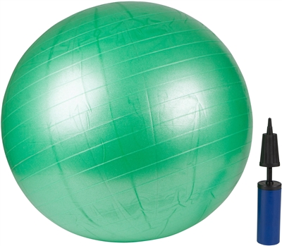 Exercise Ball With Pump Green 65cm By Trademark