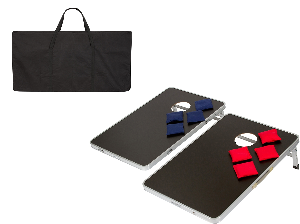 Pleasant Portable Regulation Size Bean Bag Corn Hole Toss Set Theyellowbook Wood Chair Design Ideas Theyellowbookinfo